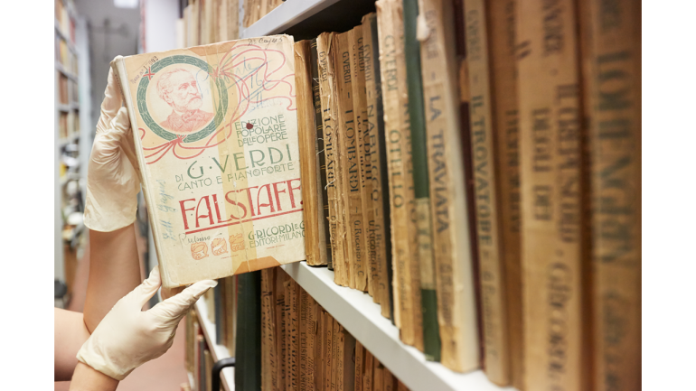 Falstaff in the archive