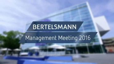 A video of the Bertelsmann Management Meeting