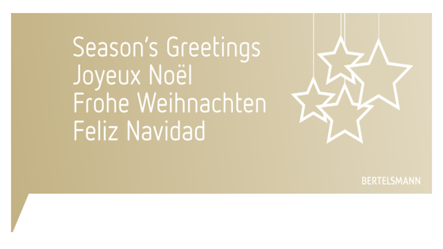 We wish you a Merry Christmas and a Happy New Year! - Bertelsmann SE ...