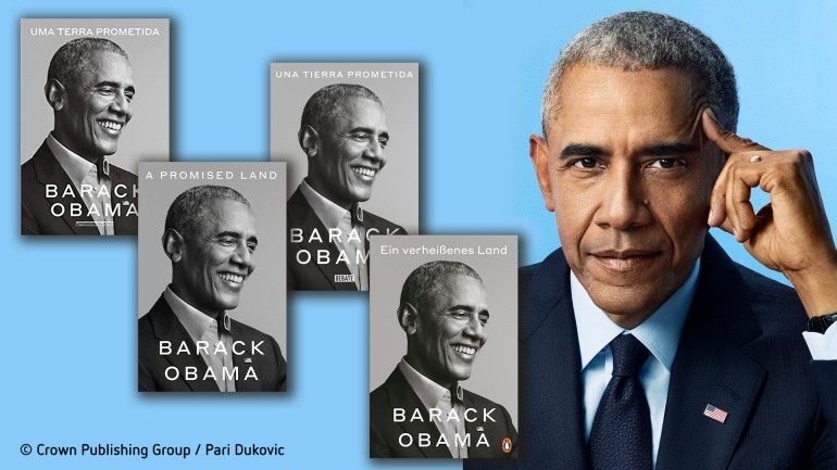 A Book For The World A Promised Land By Barack Obama Bertelsmann Se Co Kgaa