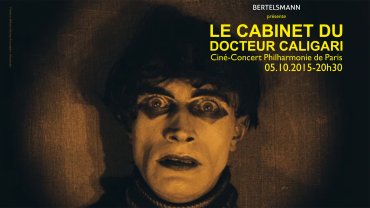 "Bertelsmann presents ""The Cabinet of Dr. Caligari"" in Paris"