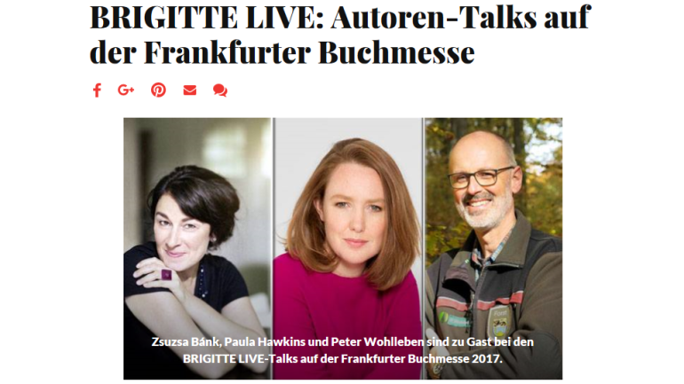 Live-Talks by Brigitte