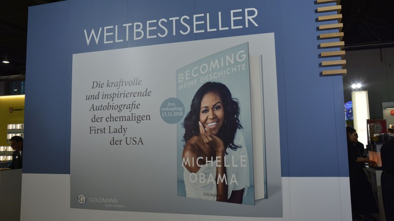 "Long-awaited highlight of the book year: Michelle Obama's ""Becoming"""
