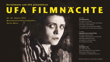 UFA Film Nights 2016 in Berlin