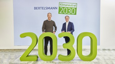 Bertelsmann to Be Climate Neutral by 2030