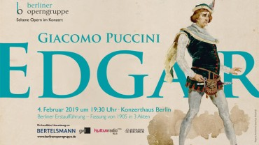 'Edgar': An Early Work by Puccini Celebrates Its Berlin Premiere