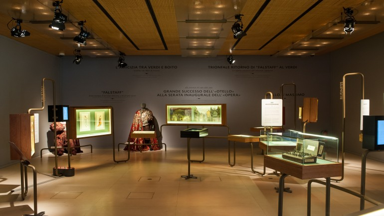 "The ""Enterprise of Opera"" exhibition with original Verdi documents from the Ricordi Archives owned by Bertelsmann, 2013"