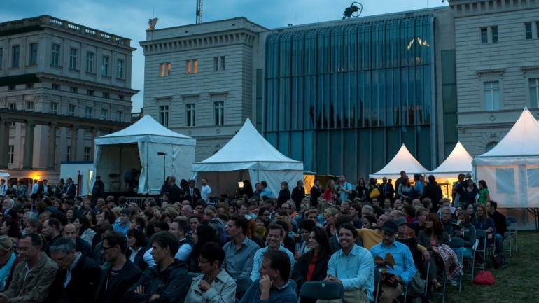UFA Film Nights 2012 on Schinkelplatz