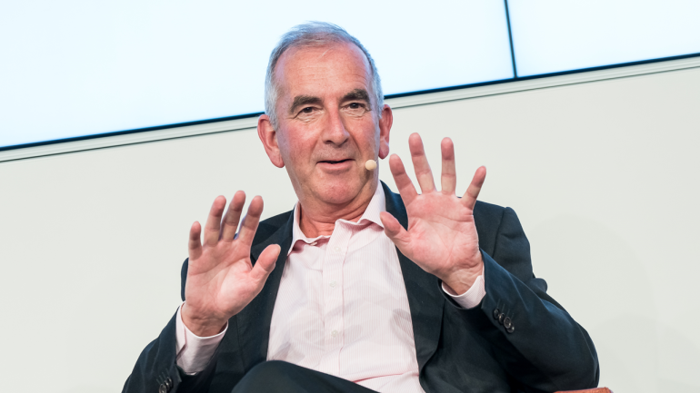 Robert Harris talked about the genesis of his new novel.